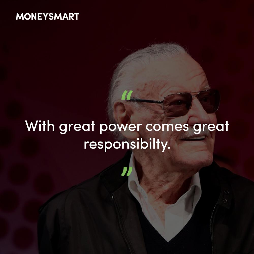 Kata-kata mutiara Stan Lee
