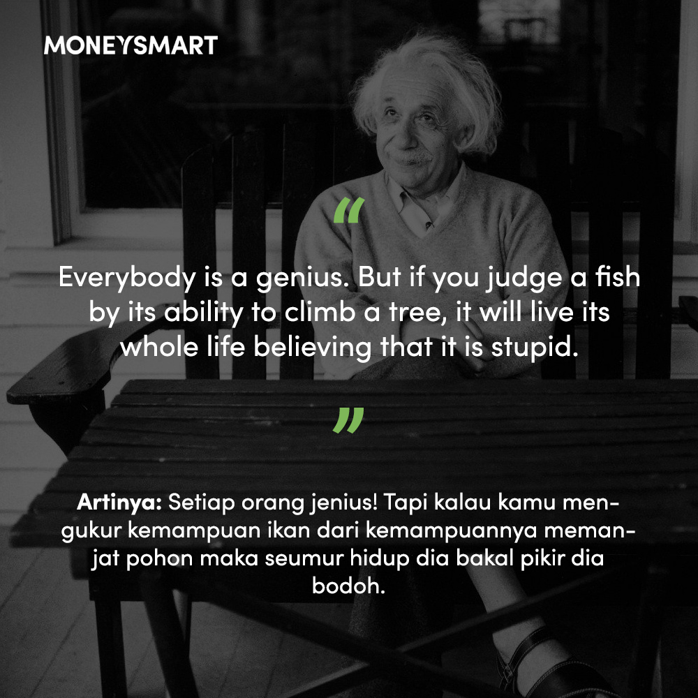Albert Einstein Quotes Fish Climbing Tree Daily Quotes